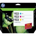 HP Combo-pack Ink Cartridge - Cyan, Magenta, Yellow