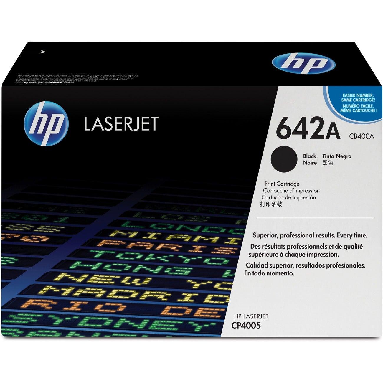 HP Black Toner Cartridge for LaserJet Color Printers