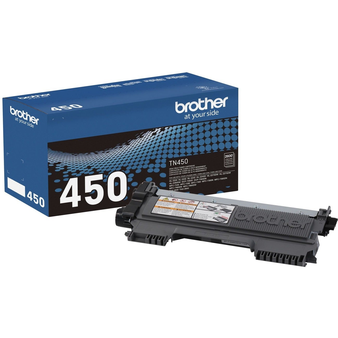 Brother TN450 Toner Cartridge - Black