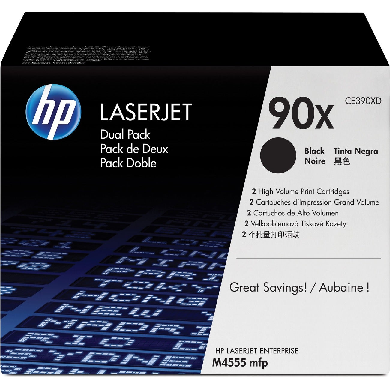 HP 90X Toner Cartridge - Black