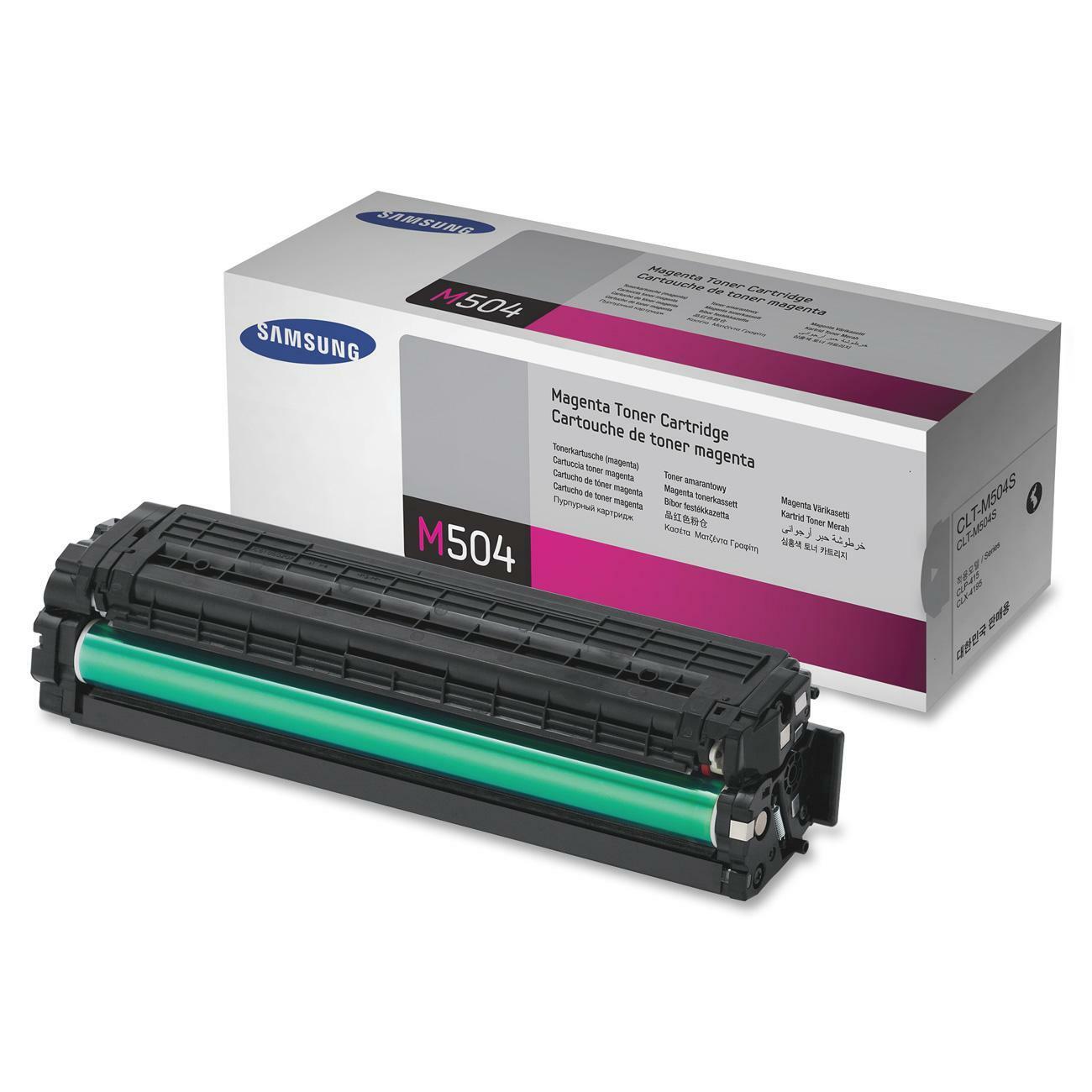 Samsung CLT-M504S Toner Cartridge - Magenta