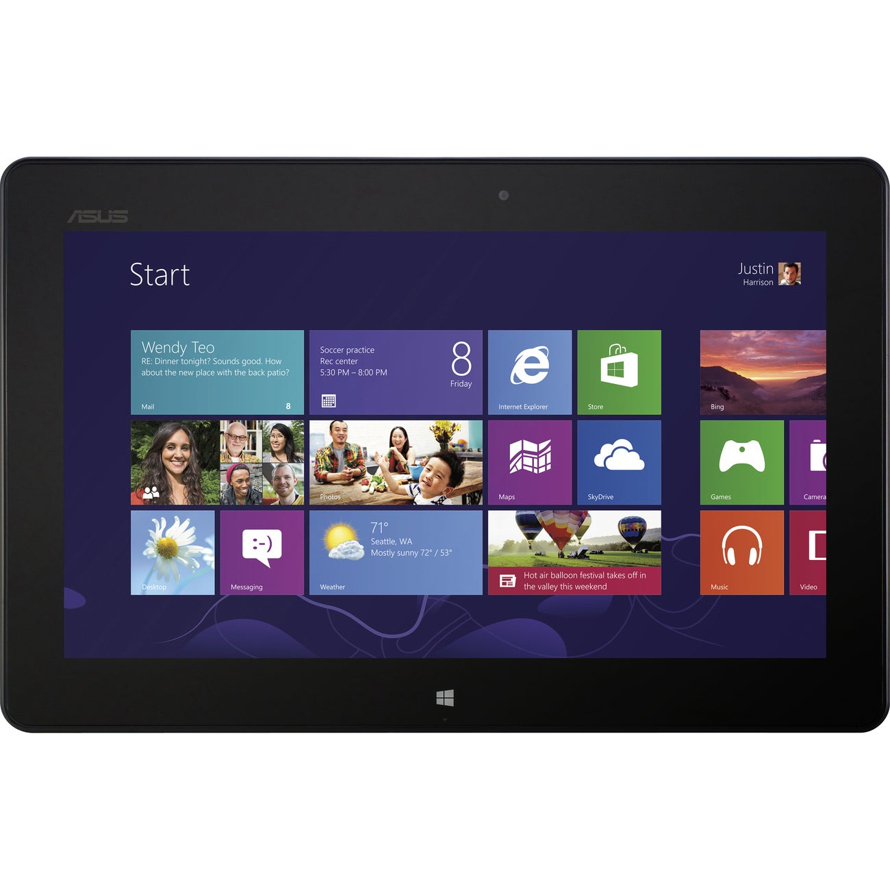 "Asus VivoTab RT 10.1"" 32GB Windows RT Tablet"