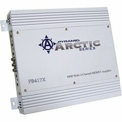PYRAMID ARCTIC PB417X 4-Channel Car Amplifier
