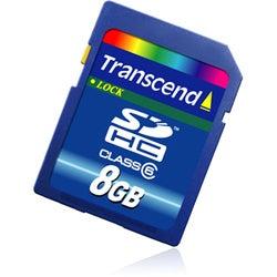 Transcend 8GB Secure Digital High Capacity (SDHC) Card - Class 6