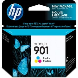 HP No.901 Tri-color Ink Cartridge for J4580/ J4640/ J4680 Printers