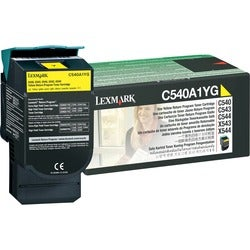 Lexmark Return Yellow Toner Cartridge