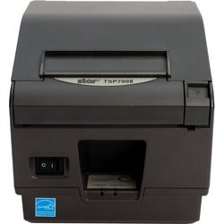 Star Micronics TSP743IIU GRY Direct Thermal Printer - Label Print - M