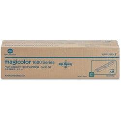 Konica Minolta High Capacity Cyan Toner Cartridge For Magicolor 1650E