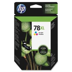 HP No. 78XL Tri-Color Ink Cartridge