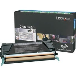 Lexmark Black High Yield Return Program Toner Cartridge