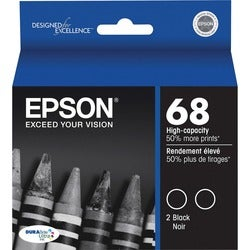 Epson High Capacity Dual-Pack Ink Cartridges