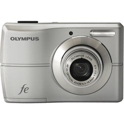 Olympus FE-26 12MP Silver Digital Camera