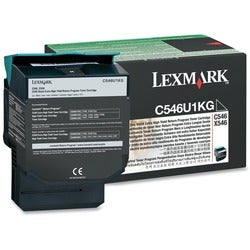 Lexmark C546U1KG Toner Cartridge - Black
