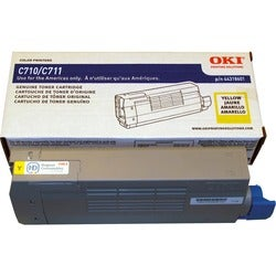 Oki 44318601 Yellow Toner Cartridge