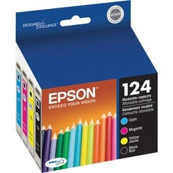 Epson DURABrite No. 124 Moderate Capacity Ink Cartridge