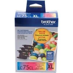Brother LC753PKS Ink Cartridge - Cyan, Magenta, Yellow