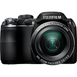 Fujifilm FinePix S4000 14MP Black Digital SLR Camera with 4.30mm-129mm Lens