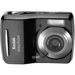 Kodak EasyShare C1505 12MP Black Digital Camera