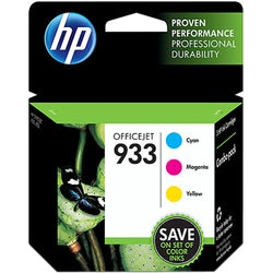 HP 933 Ink Cartridge - Cyan, Magenta, Yellow