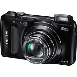 Fujifilm FinePix F660EXR 16MP Black Digital Camera