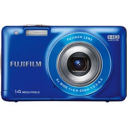 Fujifilm FinePix JX500 14MP Blue Digital Camera