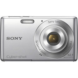 Sony Cyber-shot DSC-W620 14.1MP Silver Digital Camera