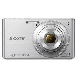 Sony Cyber-shot DSC-W610 14.1MP Silver Digital Camera