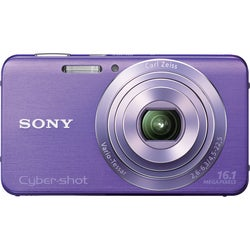 Sony Cyber-shot DSC-W630 16.1MP Violet Digital Camera
