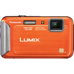 Panasonic Lumix DMC-TS20 16.1MP Orange Digital Camera