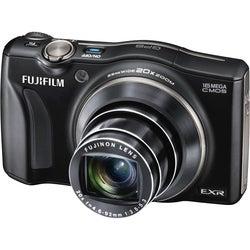 Fujifilm FinePix F770EXR 16MP Black Digital Camera
