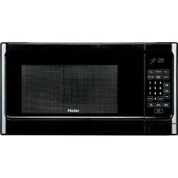 Haier 1.1-Cubic-Foot Black 1,000-Watt Microwave