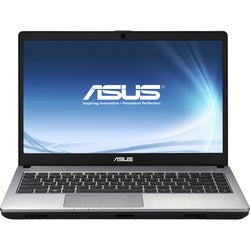 "Asus U47VC-DS51 14.1"" Notebook - Intel Core i5 i5-2450M 2.50 GHz - Si"