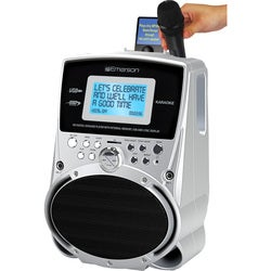 Emerson Portable Karaoke MP3 Lyric Player with 3.5-inch Color Screen