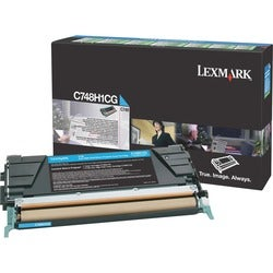 Lexmark Toner Cartridge - Cyan