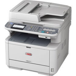 Oki MB471 LED Multifunction Printer - Monochrome - Plain Paper Print