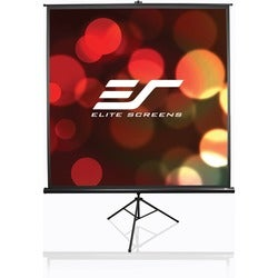 Elite Screens T50UWS1 Tripod Portable Tripod Manual Pull Up Projectio