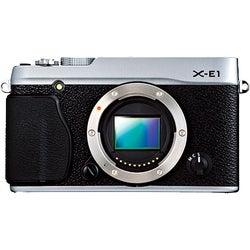 Fujifilm X-E1 Mirrorless 16.3 Silver Digital Camera Body