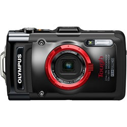 Olympus Tough TG-2 iHS 12MP Black Digital Camera