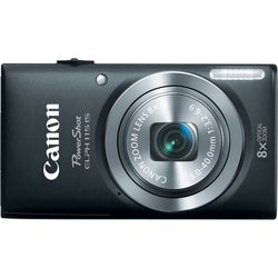 Canon PowerShot 115IS 16MP Black Digital Camera