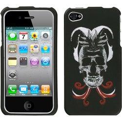 INSTEN Lizzo/ Skull Joker Phone Case Cover for Apple iPhone 4S/ 4