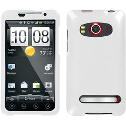 INSTEN Solid Ivory Phone Case Cover for HTC EVO 4G