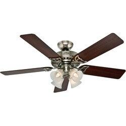 Hunter Fan Studio Series - 52 Brushed Nickel Ceiling Fan