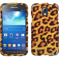 INSTEN Leopard Skin Phone Case Cover for Samsung i537 Galaxy S4 Active