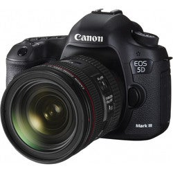 Canon EOS 5D Mark III 22.3MP Digital SLR Camera with 24-70mm Lens