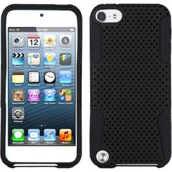 INSTEN Black/ Black Astronoot iPod Case Cover for Apple iPod touch 5