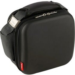 Valira Nomad Satin Carrying Case for Lunch Box - Black