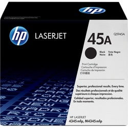 HP No. 45A Black Toner Cartridge