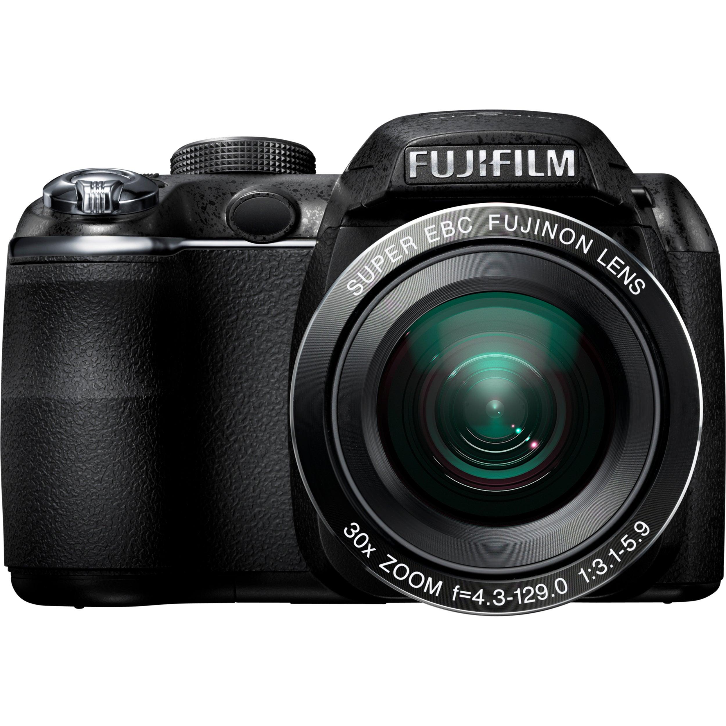 Fujifilm FinePix S4000 14 Megapixel Bridge Camera - Black