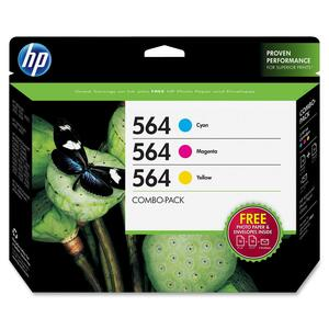 HP No. 564 Combo Pack Ink Cartridges