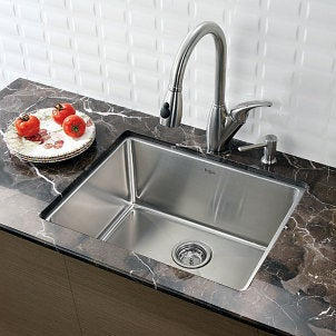 The right size kitchen sink